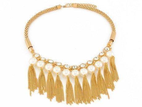 Naszyjnik chains & pearls