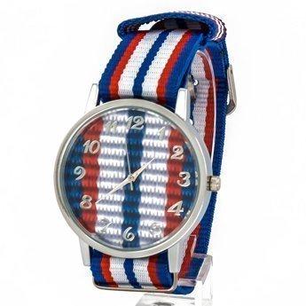 Zegarek kolor niebieski