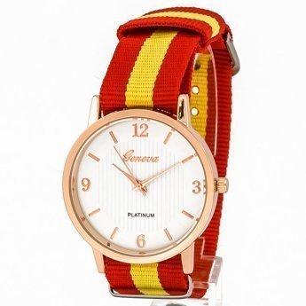 Zegarek mięciutki czerwony